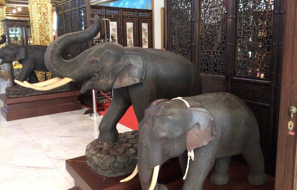 展示品の象