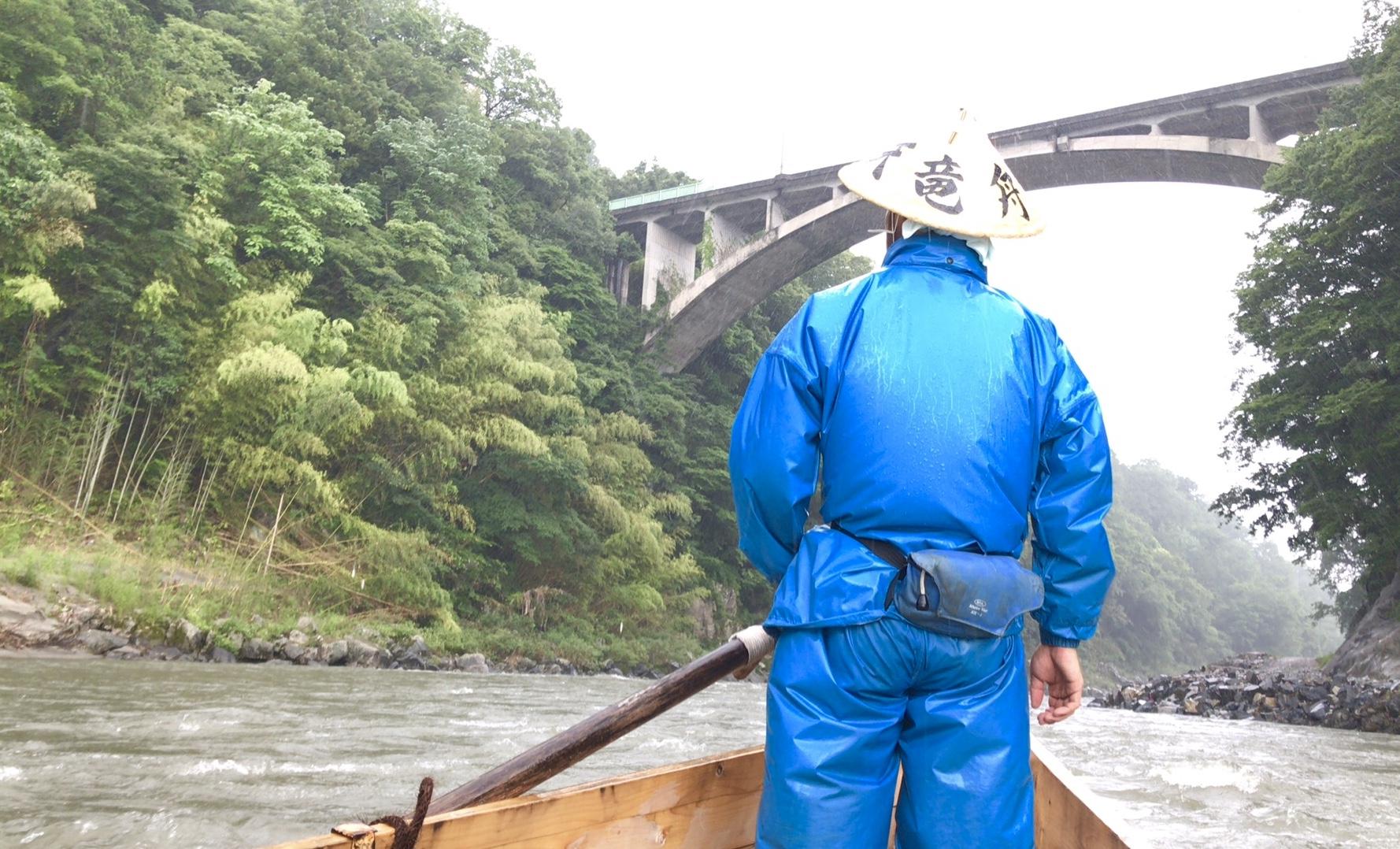 天竜川下り