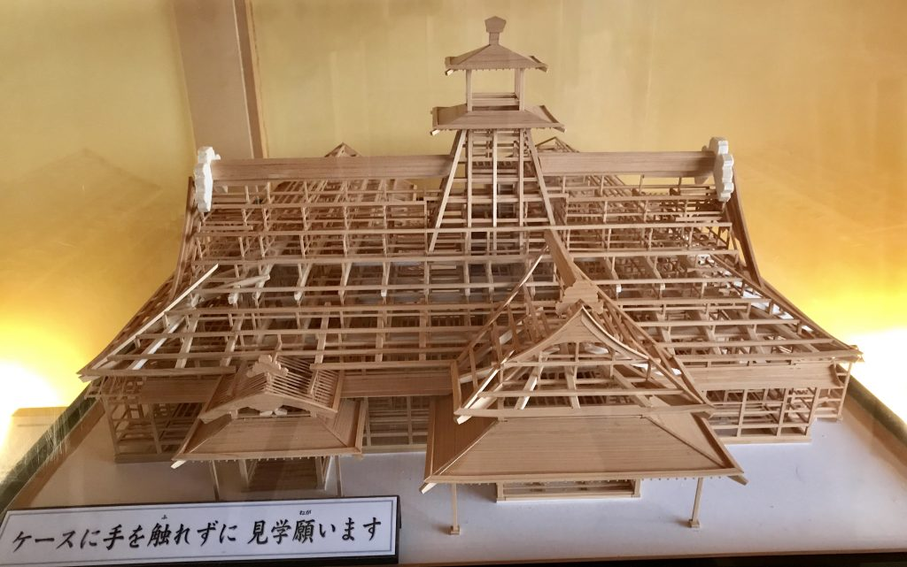 箱館奉行所模型
