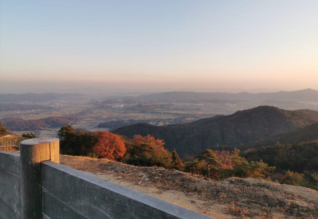 鬼ノ城からの景色